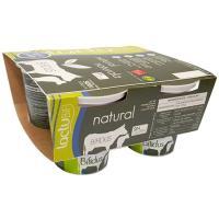 Yogur bífidus natural LACTUYOGUR, pack 4x125 g