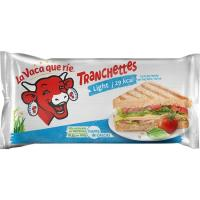 Queso light LA VACA QUE RIE, 14 lonchas, sobre 245 g