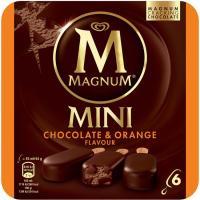Minis double de chocolate-naranja MAGNUM, caja 264 g