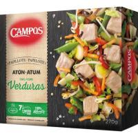 Papillote de atún-verdura CAMPOS, caja 270 g