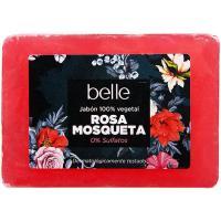 Jabón de rosa mosqueta belle, pastilla 125 g