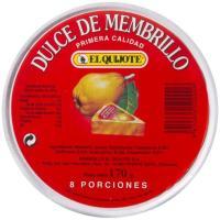 Dulce de membrillo EL QUIJOTE, 8 porciones, caja 170 g