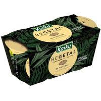 Begetal con vainilla KAIKU, pack 2x115 g