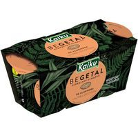 Begetal con melocotón KAIKU, pack 2x115 g