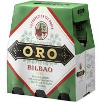 Cerveza ORO, pack 6x25 cl
