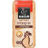 Fideo nº1 integral GALLO NATURE, paquete 400 g