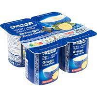 Yogur griego de lima-limón EROSKI, pack 4x125 g