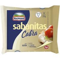 Queso fundido de cabra Sabanitas HOCHLAND, lonchas, sobre 150 g