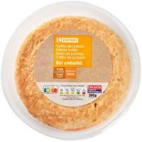 Tortilla fresca sin cebolla EROSKI, 1 ud., 500 g
