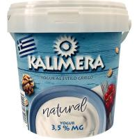 Yogur griego 3,5% mg KALIMERA, bote 1 kg