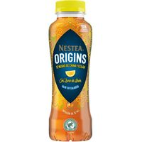 Refresco de té negro-limón infusionado NESTEA, botellín 33 cl