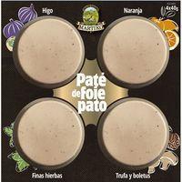 Tabla de paté de foie MARTIKO, pack 4x40 g