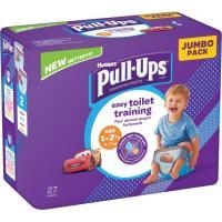 Pull Ups niño 8-17 kg Talla 4 HUGGIES, paquete 27 uds.