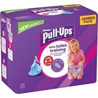 Pull Ups niña 18-23 kg Talla 5 HUGGIES, paquete 25 uds.