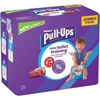 Pull Ups niño 18-23 kg Talla 5 HUGGIES, paquete 25 uds.