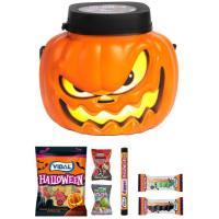 Calabaza con chucherías Halloween VIDAL, 1 ud, 200 g