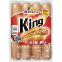 Salchicha king original EL POZO, sobre 330 g