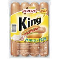 Salchicha king pechuga de pavo EL POZO, sobre 330 g