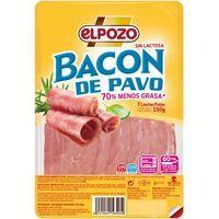 Bacon de pavo ELPOZO, lonchas, bandeja 150 g