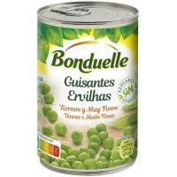 Guisante fino sin azúcar añadido BONDUELLE, lata 250 g