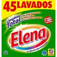 Detergente en polvo ELENA, maleta 45 dosis