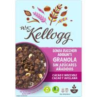 Granola chocolate-avellanas W.K. KELLOGG`S, caja 300 g