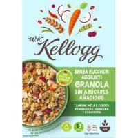 Granola-manzana-frambuesa-zanahoria W.K. KELLOGG`S, caja 300 g