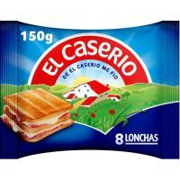 Queso fundido EL CASERIO, lonchas, sobre 150 g