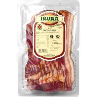 Panceta curada adobada IRURA, bandeja 180 g