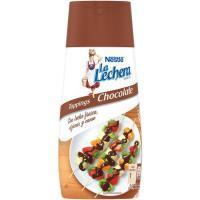 Leche condensada de chocolate LA LECHERA, dosificador 450 g