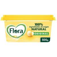 Margarina vegetal FLORA, tarrina 500 g