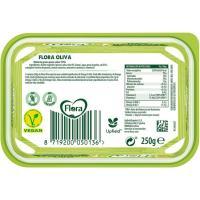 Margarina de oliva FLORA, tarrina 250 g
