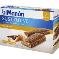 Barrita de toffee BIMANAN, caja 8 uds.