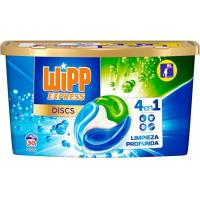Detergente máquina cápsulas WIPP, caja 30 dosis