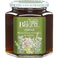 Miel ecológica nacional EL BREZAL, frasco 500 g