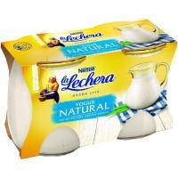 Yogur natural LA LECHERA, pack 2x125 g