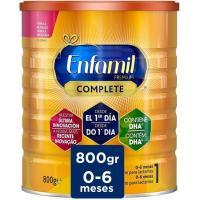 Leche infantil de inicio 1 en polvo ENFAMIL Complete, lata 800 g