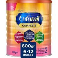 Leche de continuación en polvo ENFAMIL Complete 2, lata 800 g