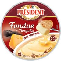 Fondue de borgoña tradicional PRESIDENT, bandeja 175 g