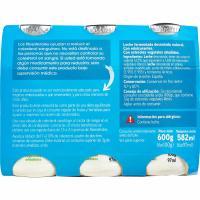 Reductor colesterol natural azucarado EROSKI, pack 6x100 ml