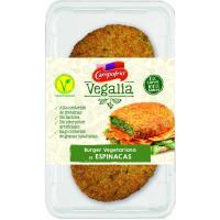 Burger vegetariana de espinacas VEGALIA, bandeja 160 g