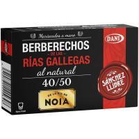 Berberecho de las Rías Gallegas 40/50 SANCHEZ LLIBRE, lata 63 g