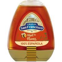 Miel milflores nacional GRANJA SAN FRANCISCO, dosificador 345 g