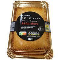 Empanada de atún claro Eroski SELEQTIA, 250 g