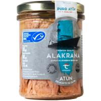 Atún en aceite de oliva MSC ALAKRANA, frasco 185 g