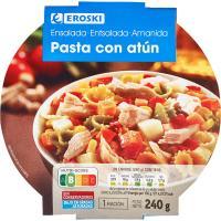 Ensalada de pasta con atún EROSKI, bowl 240 g