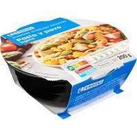 Ensalada de pasta-pavo EROSKI, bowl 200 g