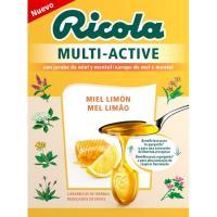 Caramelos multiactive de miel-limón RICOLA, caja 1 ud.