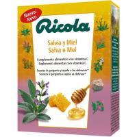 Caramelos defensas de salvia-miel RICOLA, caja 1 ud.