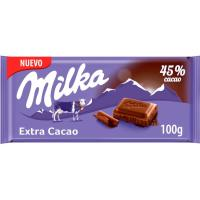 Chocolate 45% cacao MILKA, tableta 100 g